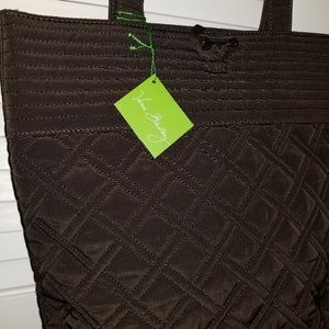 NWT Vera Bradley Expresso Quilted Tote